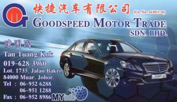 GOODSPEED MOTOR TRADE SDN BHD