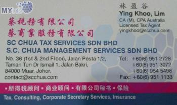 S.C. CHUA MANAGEMENT SERVICES SDN BHD