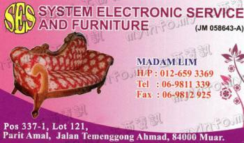 PERABOT JATI SYSTEM ELECTRONIC SERVICE AND FURNITURE