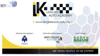LENG KEE AUTO ACADEMY SDN BHD