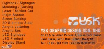 YSK GRAPHIC DESIGN SDN BHD