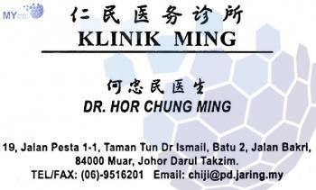 KLINIK MING