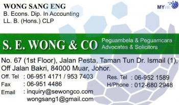 S.E. WONG & CO